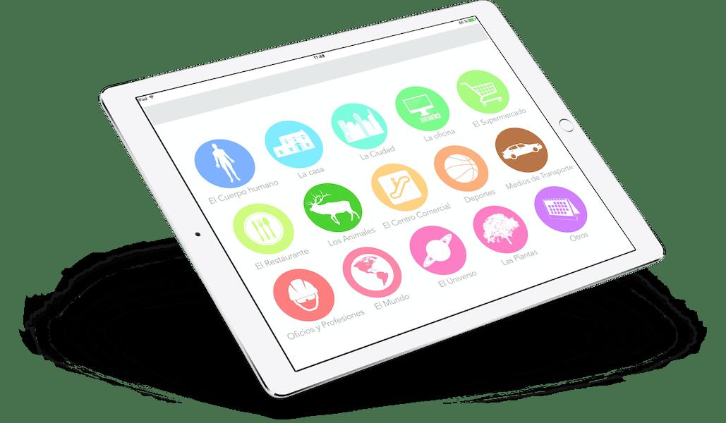VC Español iPad Air Perspectiva