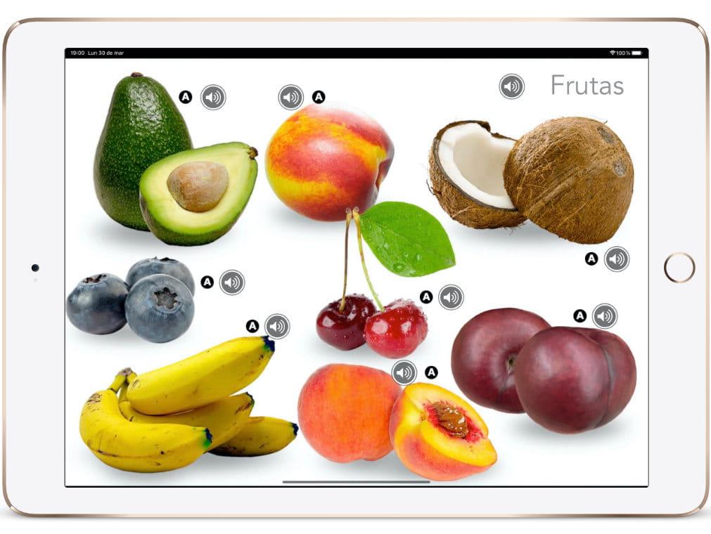 VC Español - iPad frutas