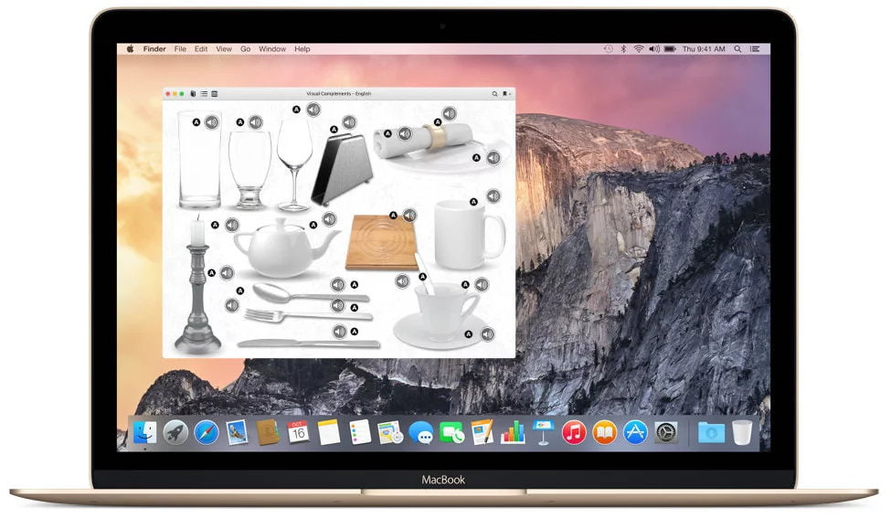 VC Español macbook gold